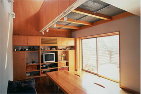 無垢の木の家 の2世帯住宅リフォーム
